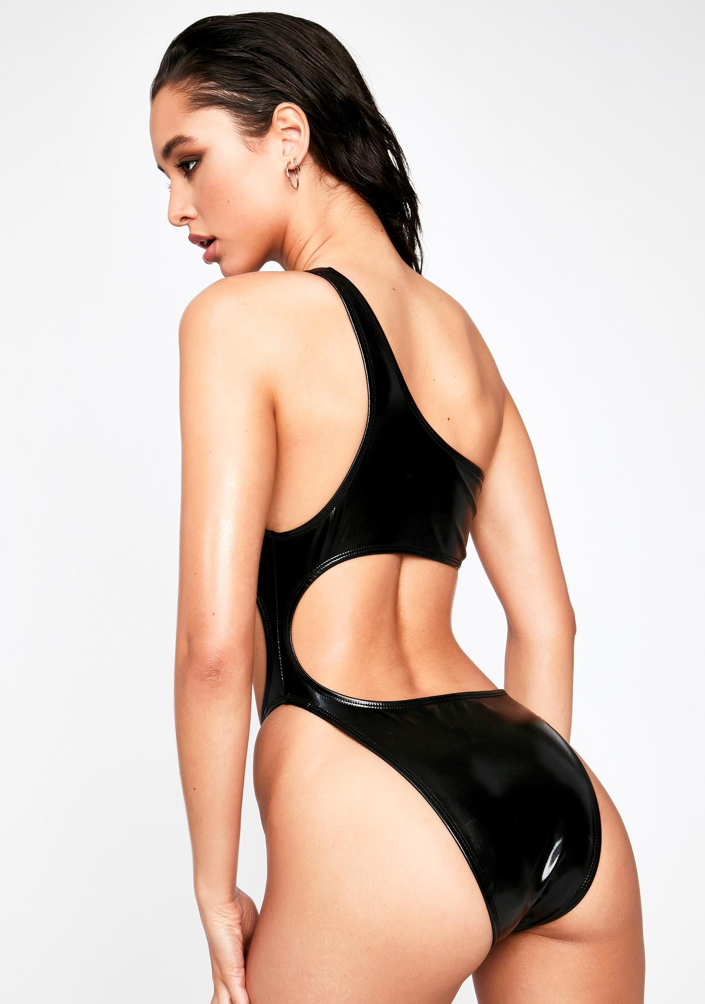 Motel Glater Cut-Out Swimsuit