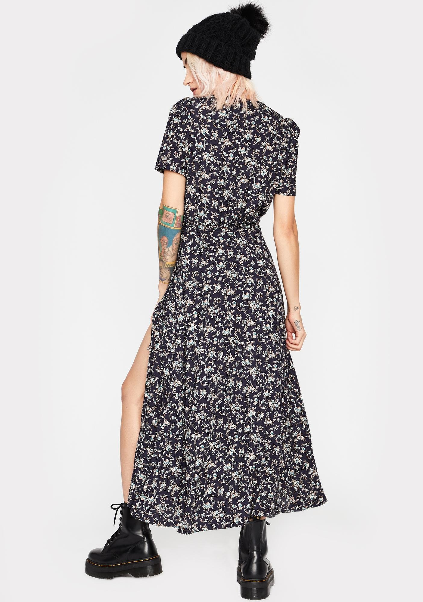 Desires Manifested Floral Maxi Dress