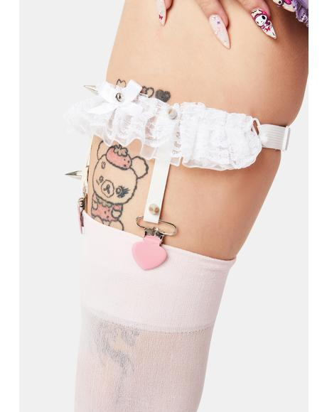 Pretty and Punk Garter Set