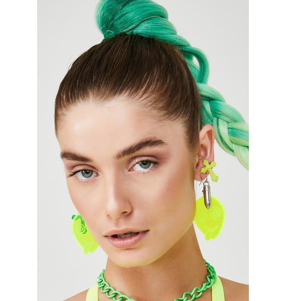 GoGuy Extra Space Alien Earrings