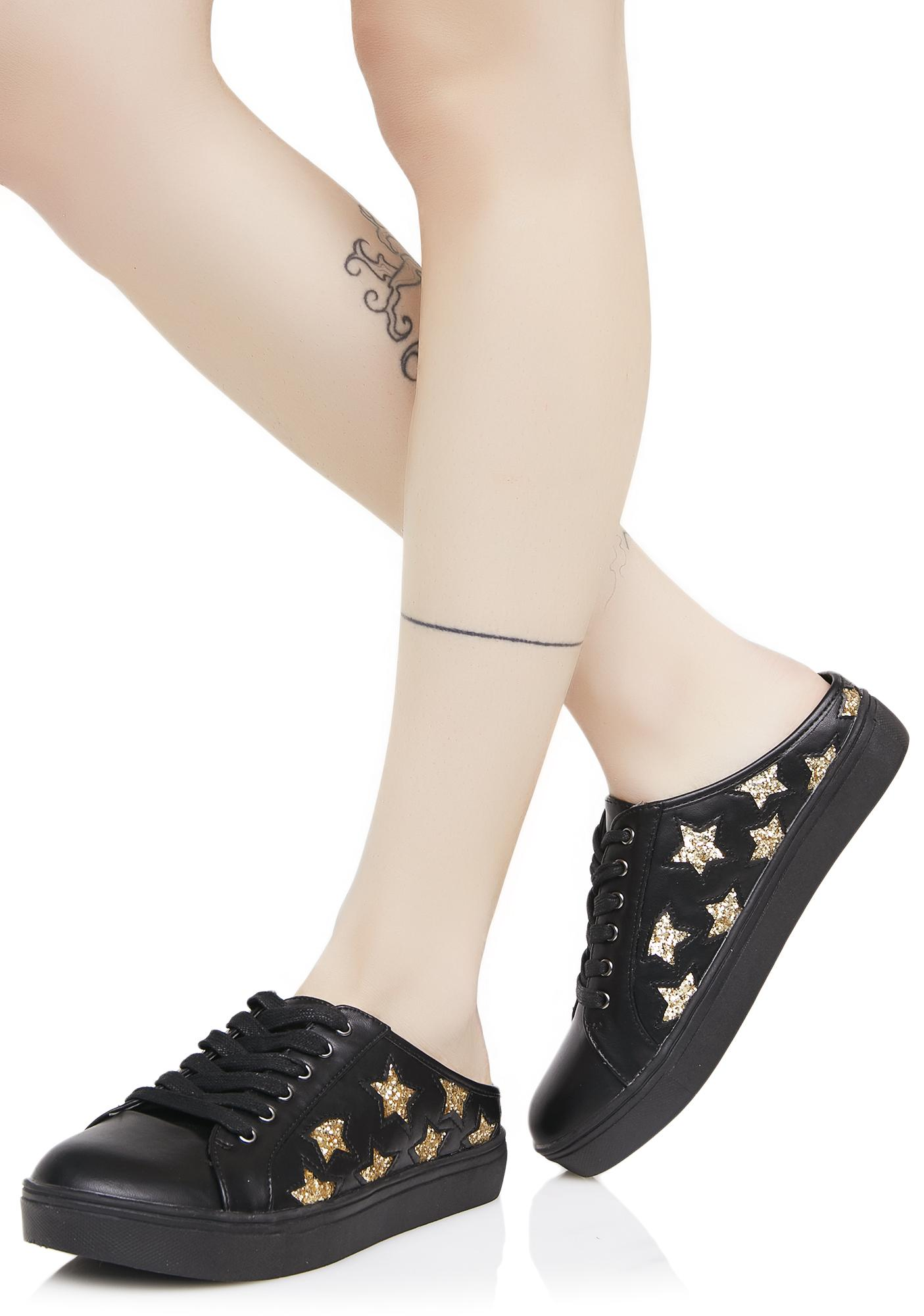 Dark Star Slip-On Sneakers