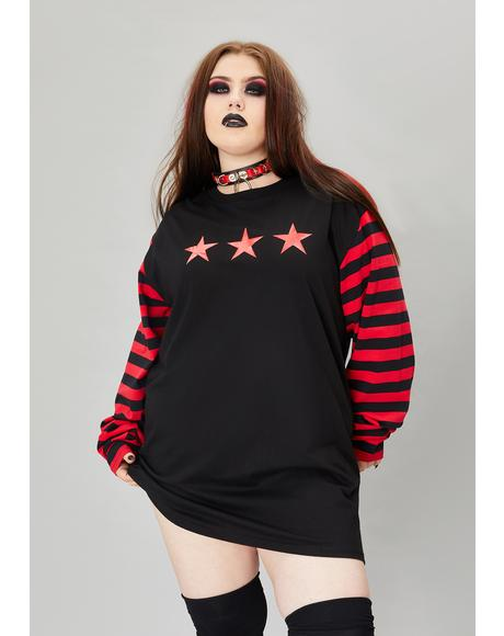 True Nation Of Misfits Long Sleeve Graphic Tee
