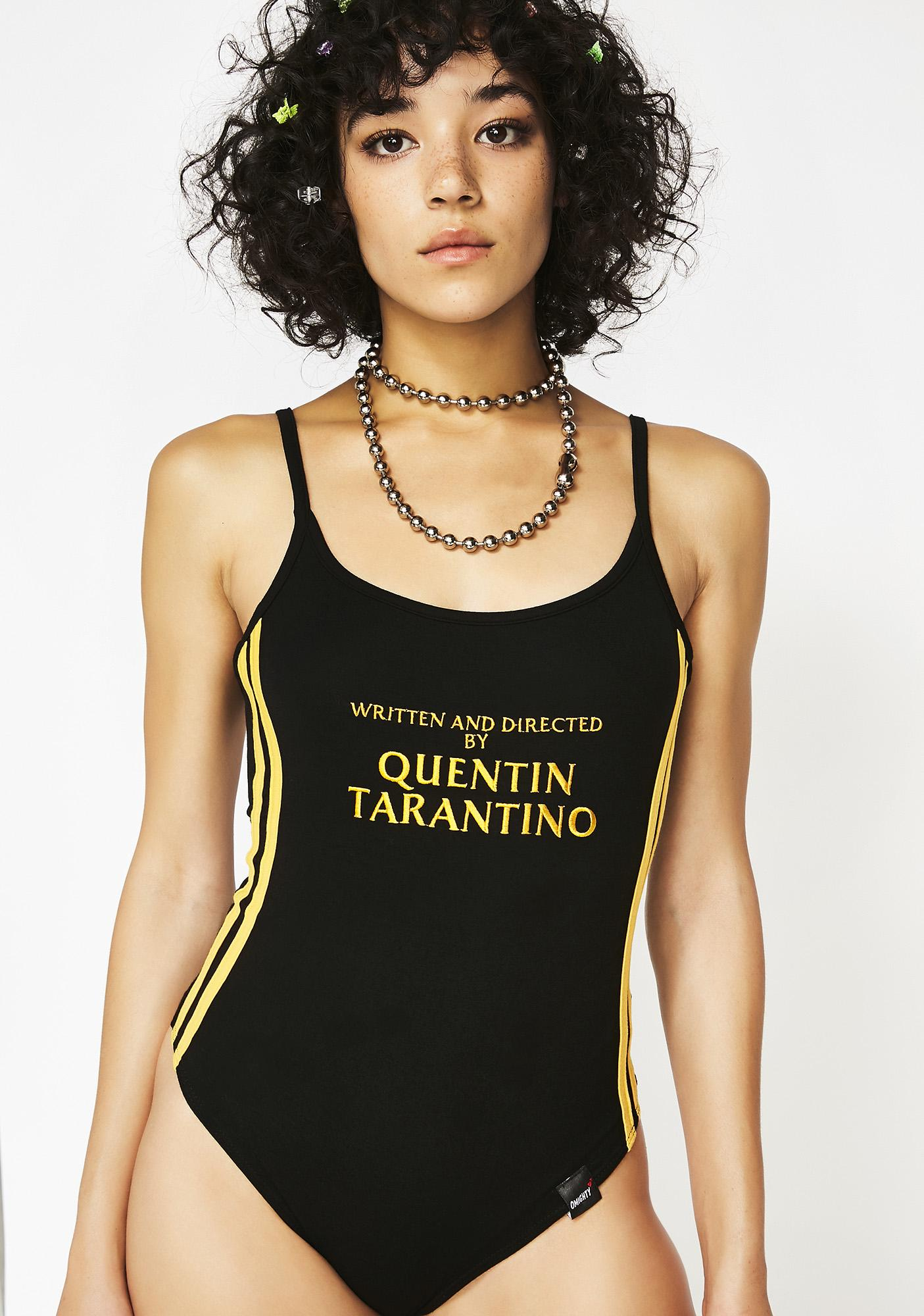 O Mighty Wicked A Film By Quentin Tarantino Bodysuit