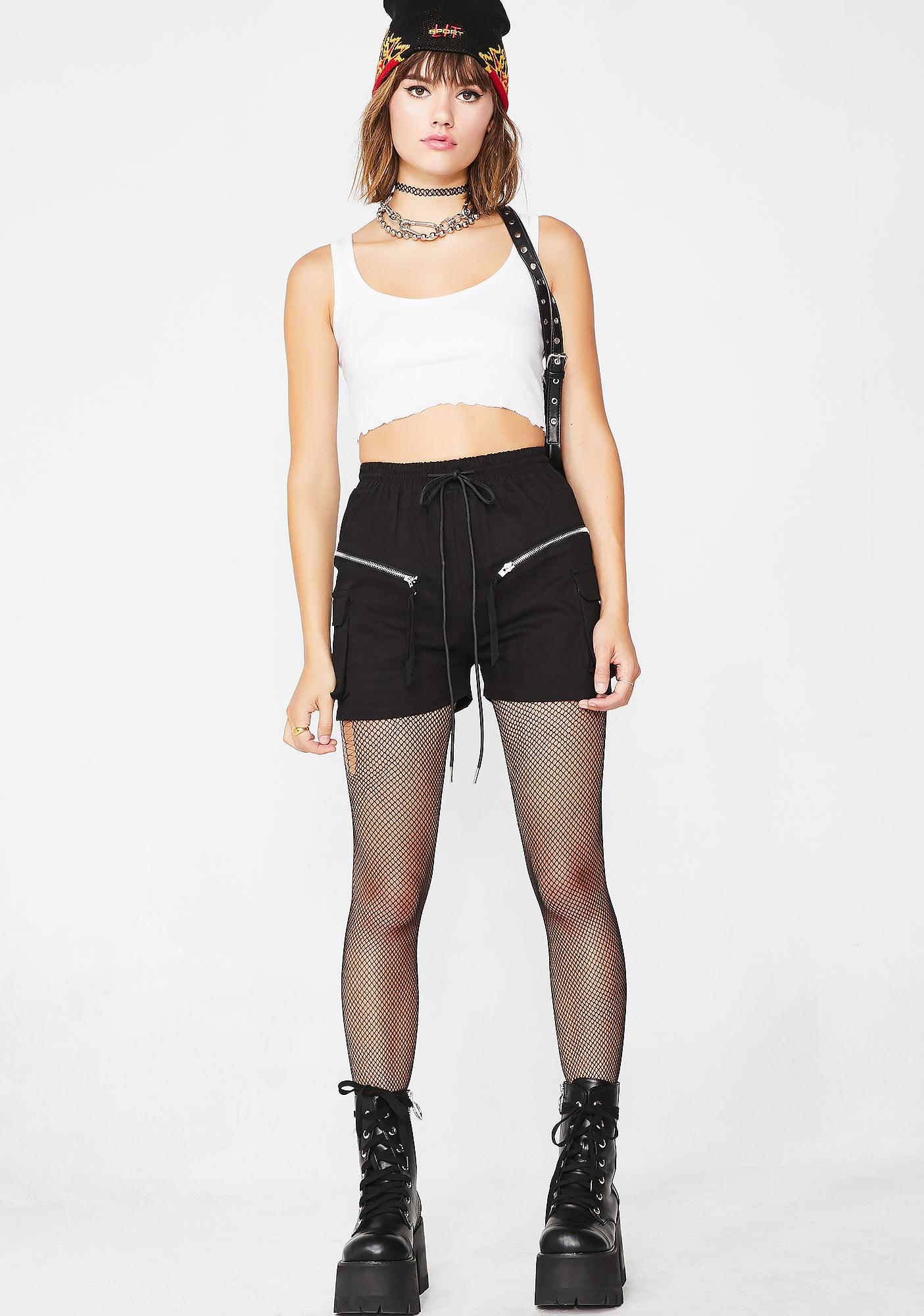 Sporty Chick Cargo Shorts