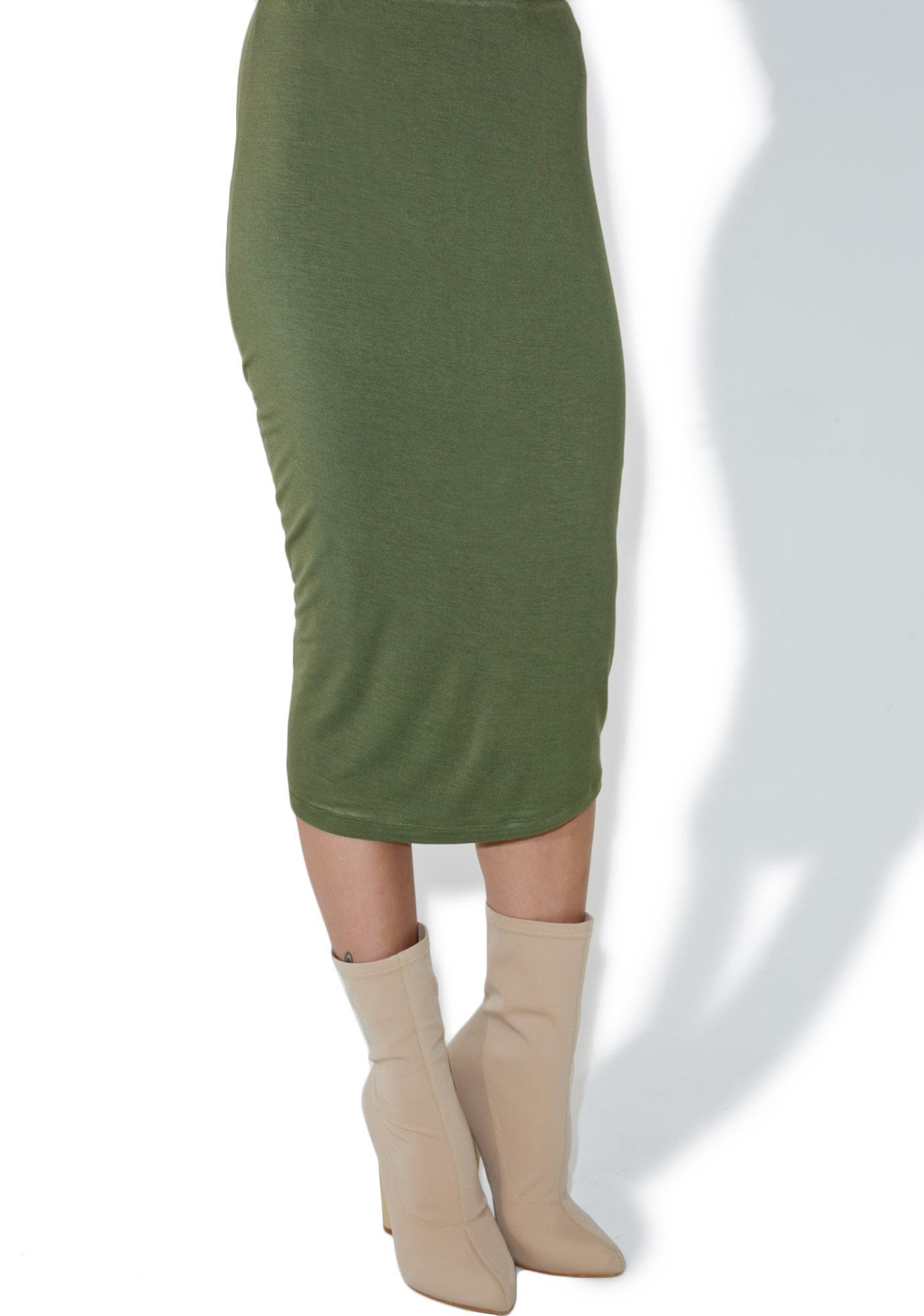 BLQ BASIQ Swift Pencil Skirt
