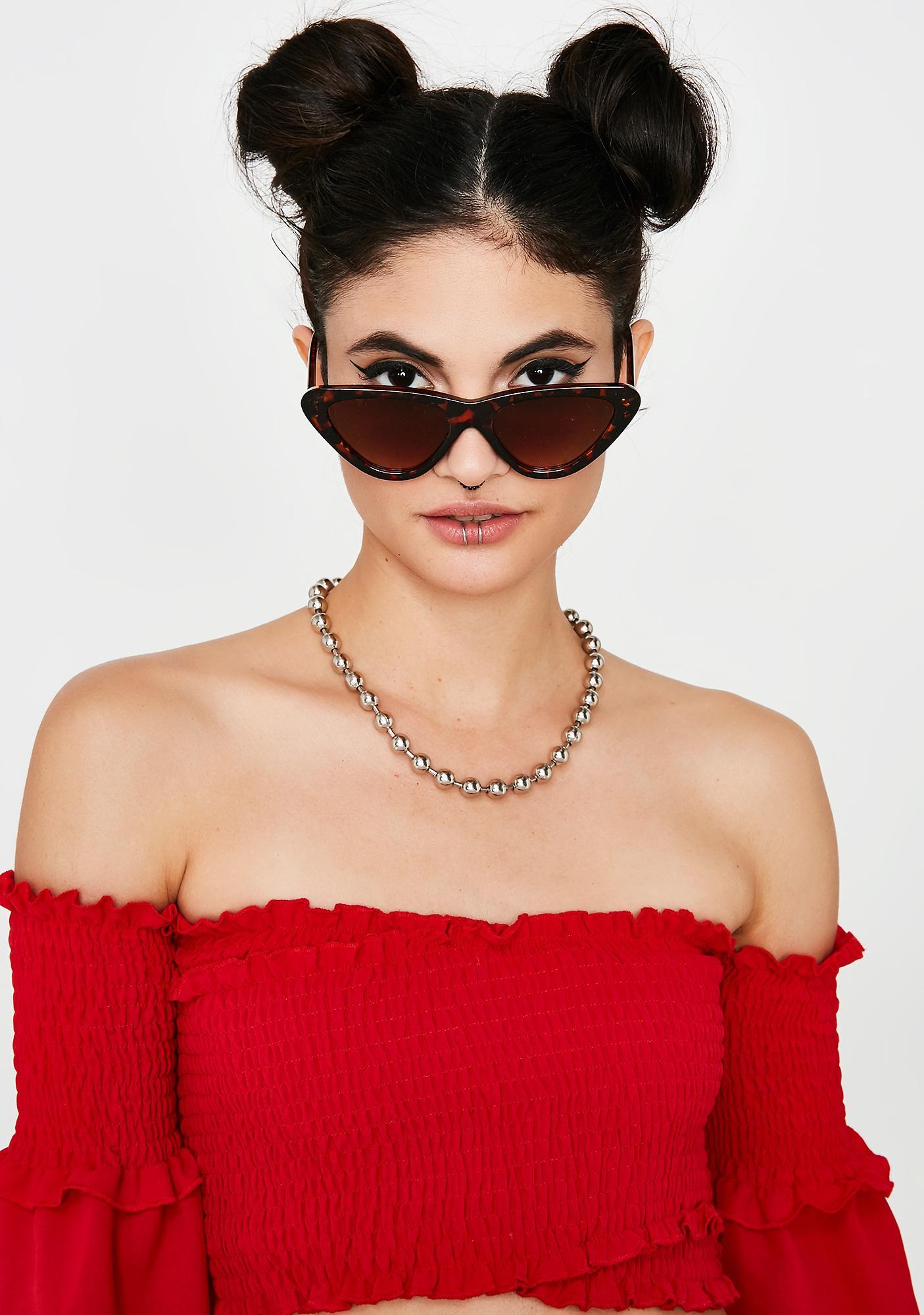 Kitty Spill The Tea Sunglasses