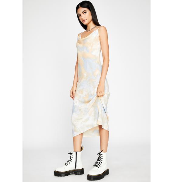 Right As Rain Tie Dye Midi Dress
