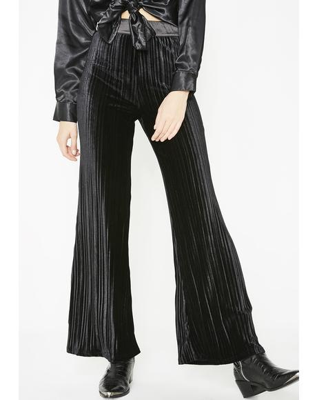 Comin' Up Velvet Pants