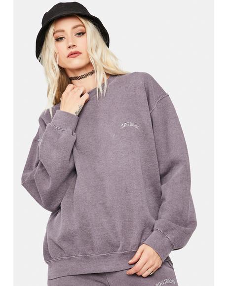 Lilac Crewneck Sweatshirt