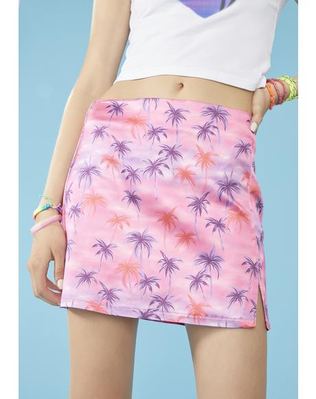 Aloha For Now Mini Skirt