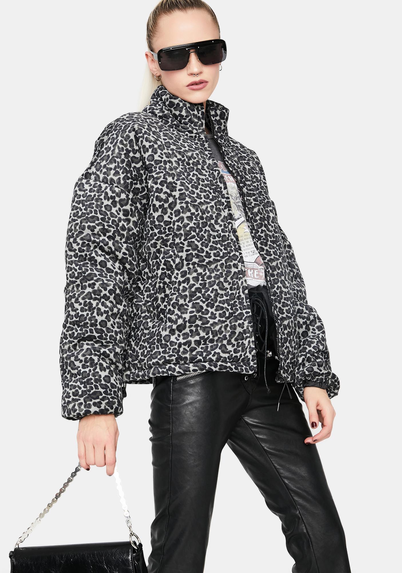 Killer Kitten Puffer Jacket