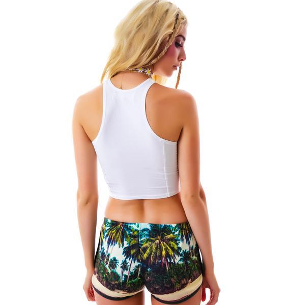 All Things Fabulous Bahia Track Shorts