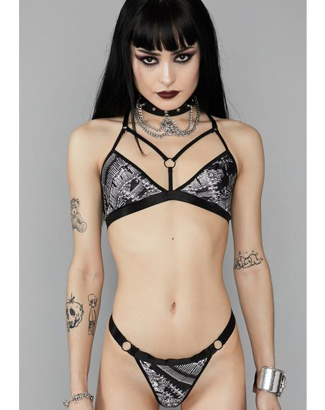 Catacomb Crypt Thong Panties