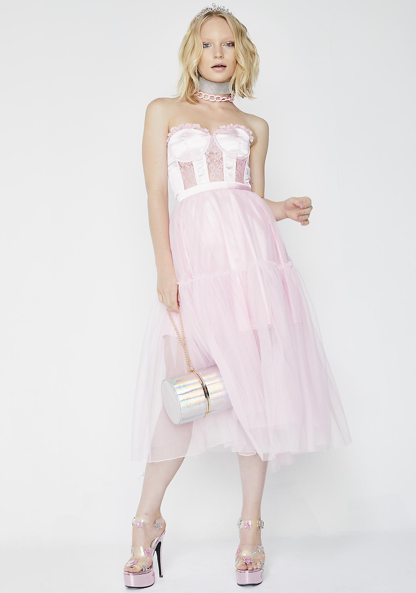 Sugar Thrillz Twirl Princess Tulle Skirt