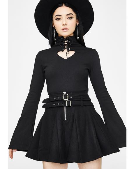 Woolen Half Skirt
