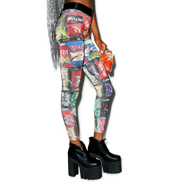 24HRS Vending Machine Leggings