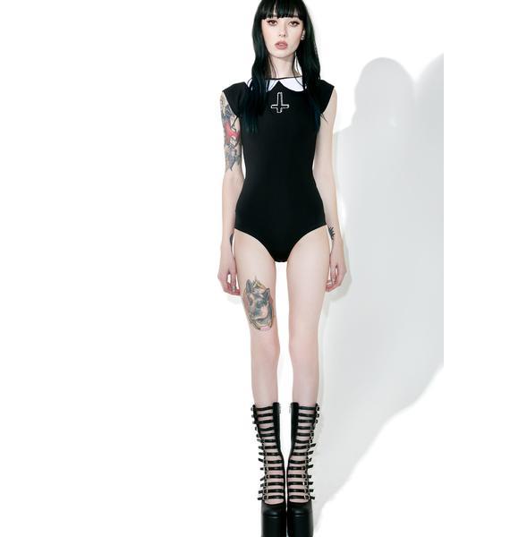 Disturbia Wednesday Bodysuit
