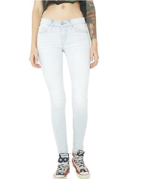711 Stretch Skinny Jeans