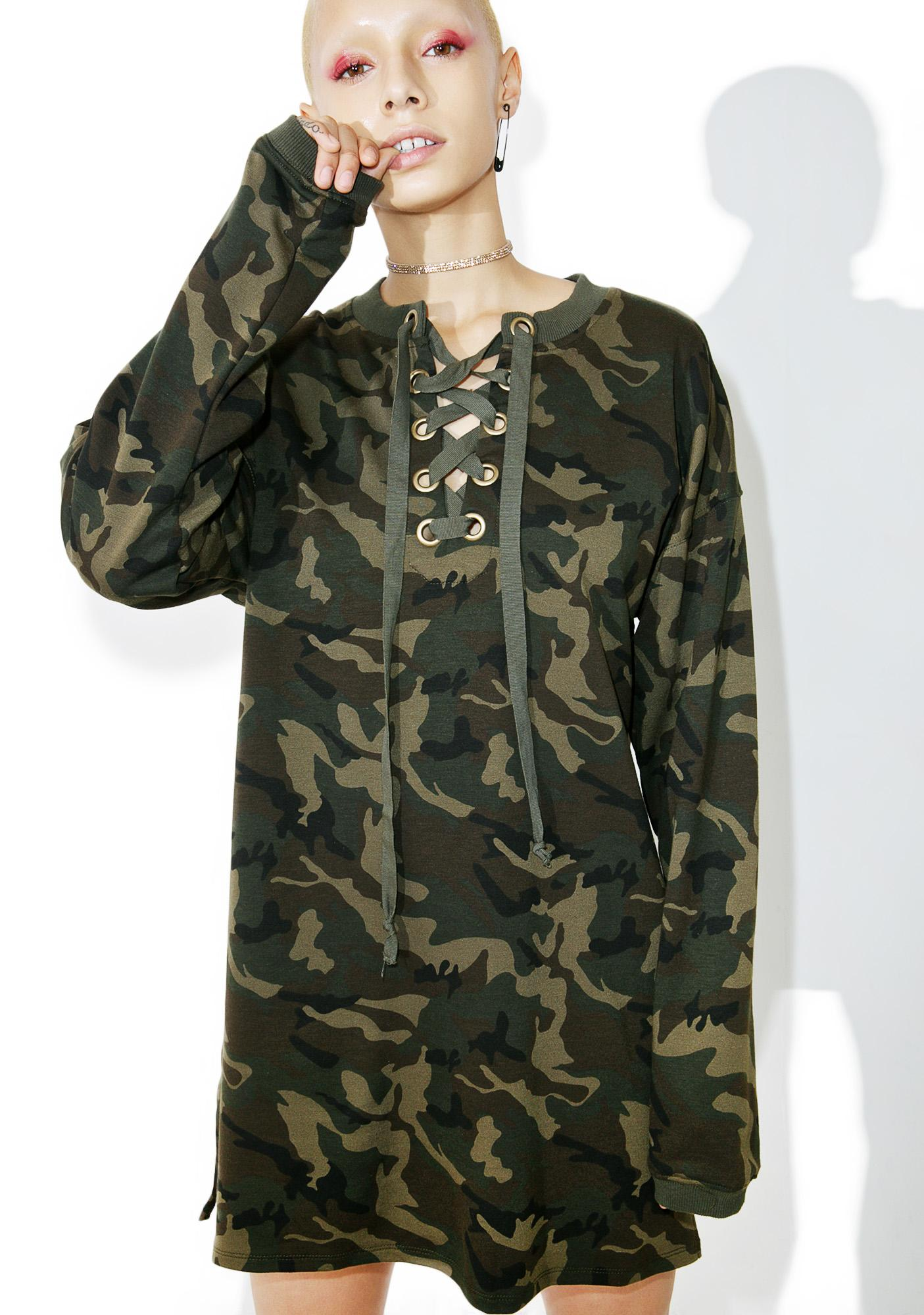 Jungle Fever Sweater Dress