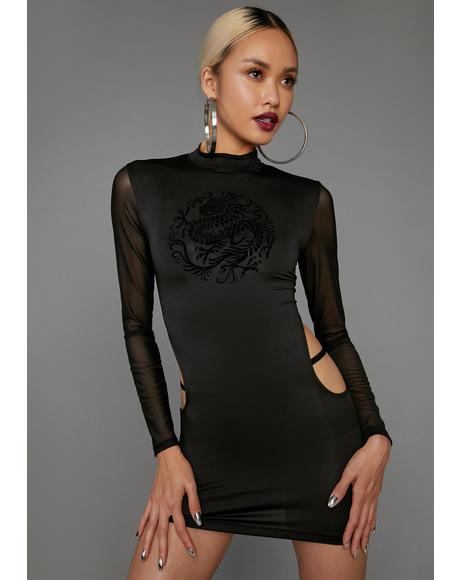 Bad Gal Revolution Cutout Dress