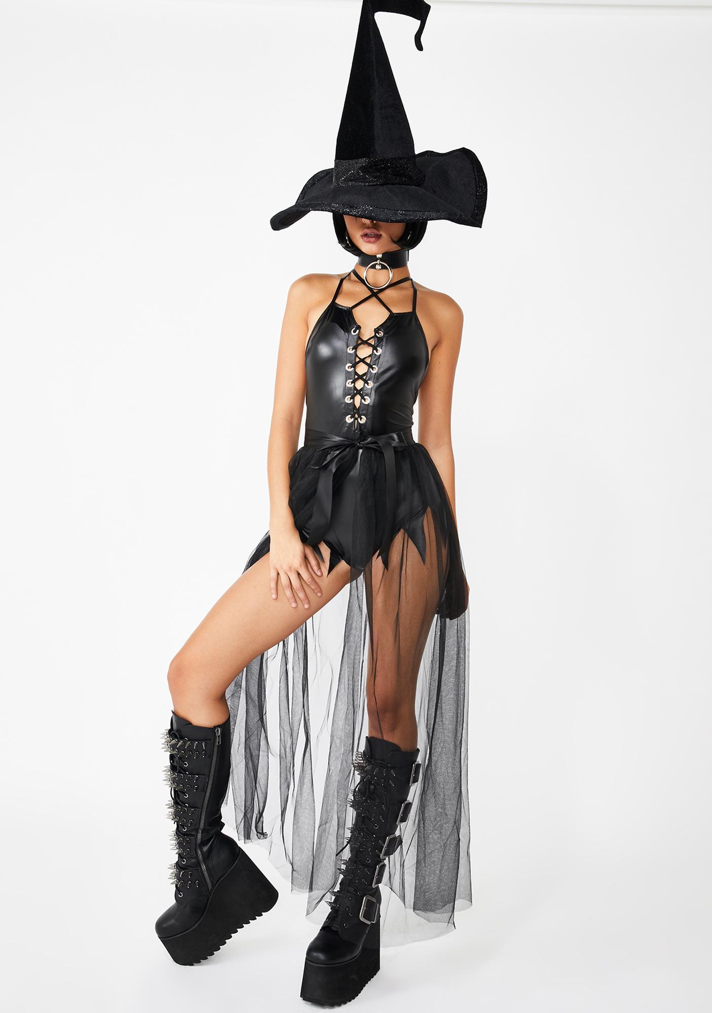 Black Magic Tulle Skirt