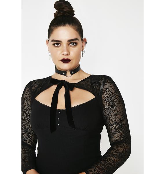 Killstar Night Bat To The Bone Dress
