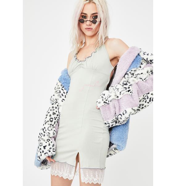 GANGYOUNG Mint XSX Mini Dress