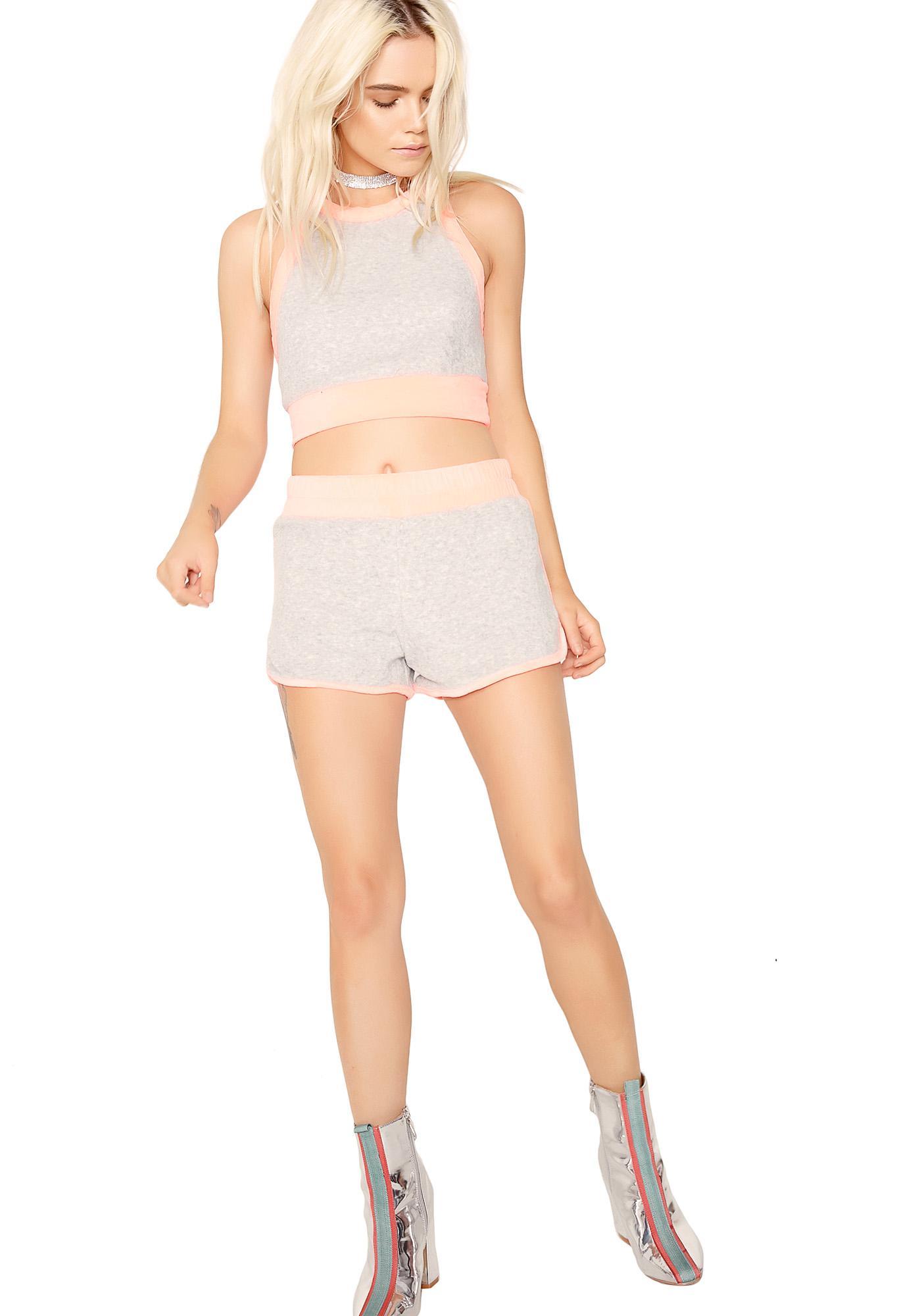 Smoke Varsity Bleu Shorts
