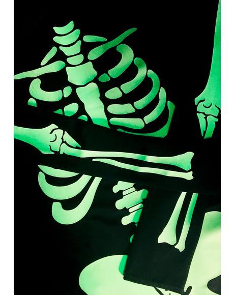 Queen Voodoo Glow Skull Costume
