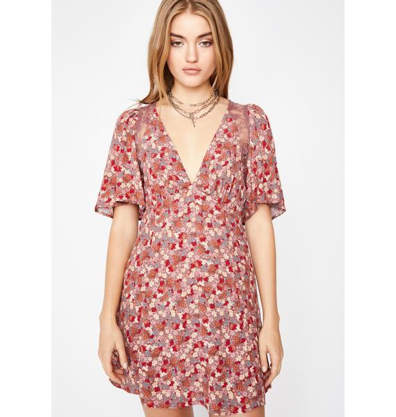 Sweet Love Too Good Floral Dress