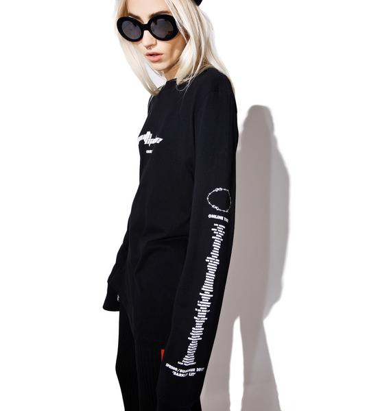 Youth Machine Online Tour Long Sleeve Tee