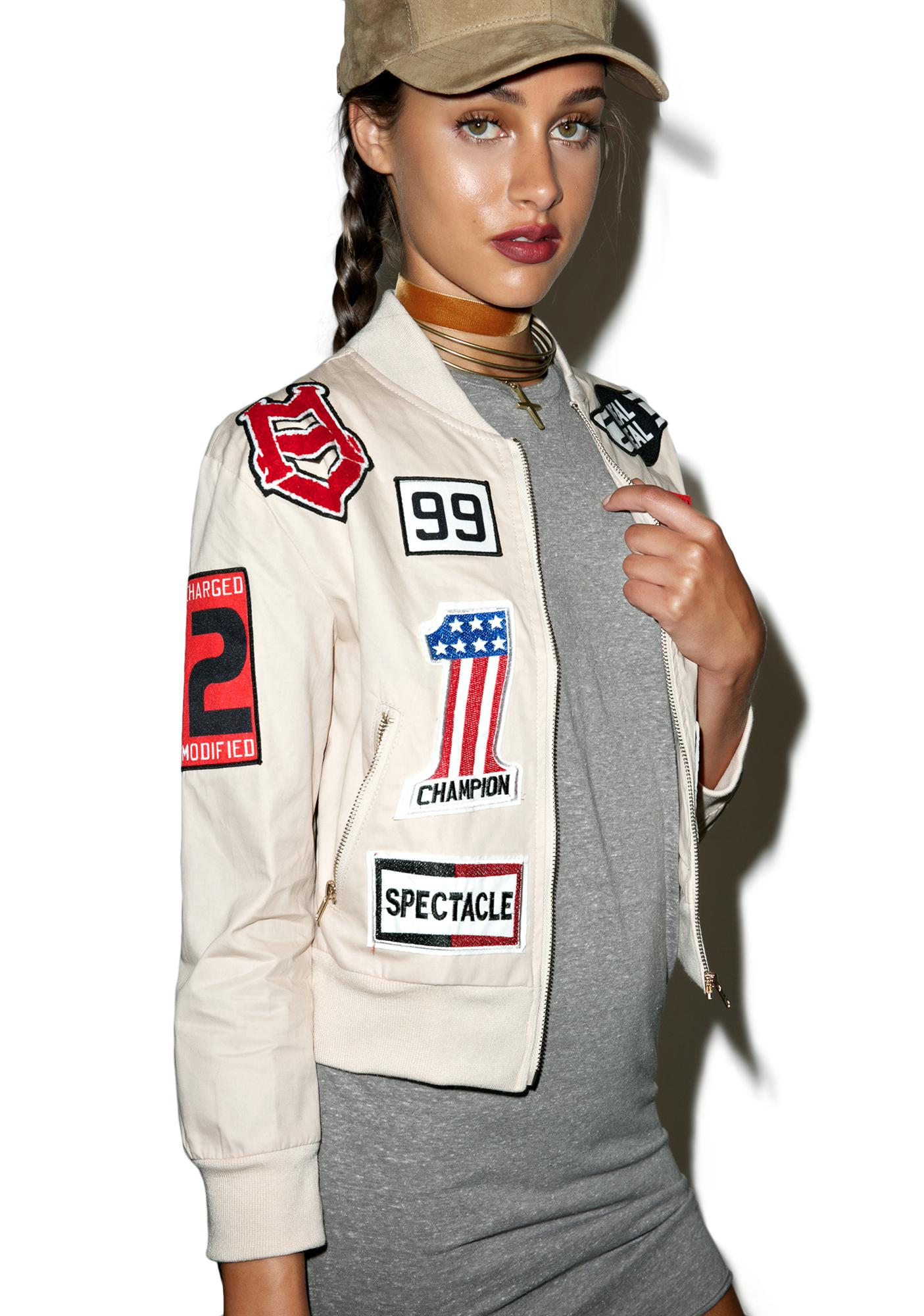 Real Deal Patch Jacket