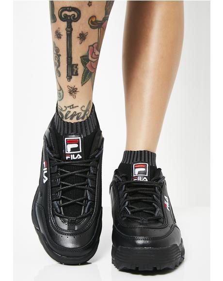Dark Disruptor Evo Sockfit Sneakers