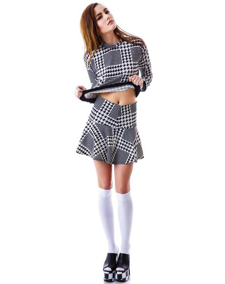 Hound Dog Skater Skirt