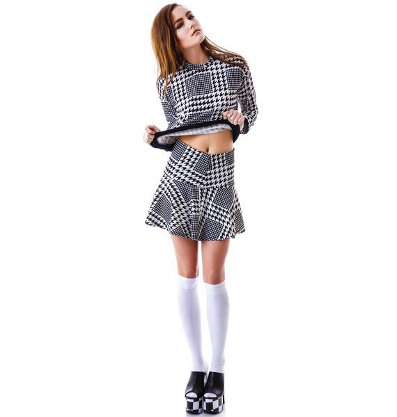 Hound Dog Skater Skirt