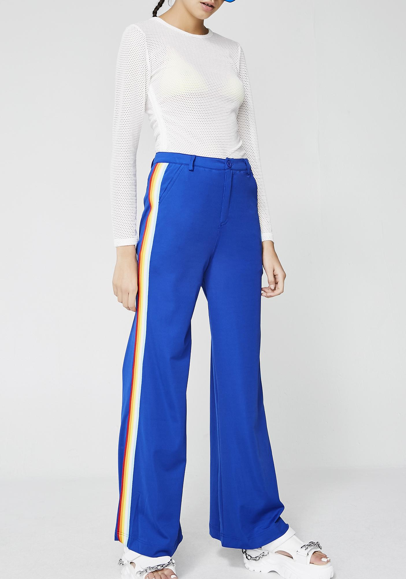 Ray Of Sunshine Stripe Trousers