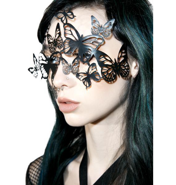BIJOUX INDISCRETS Sybille Vinyl Mask