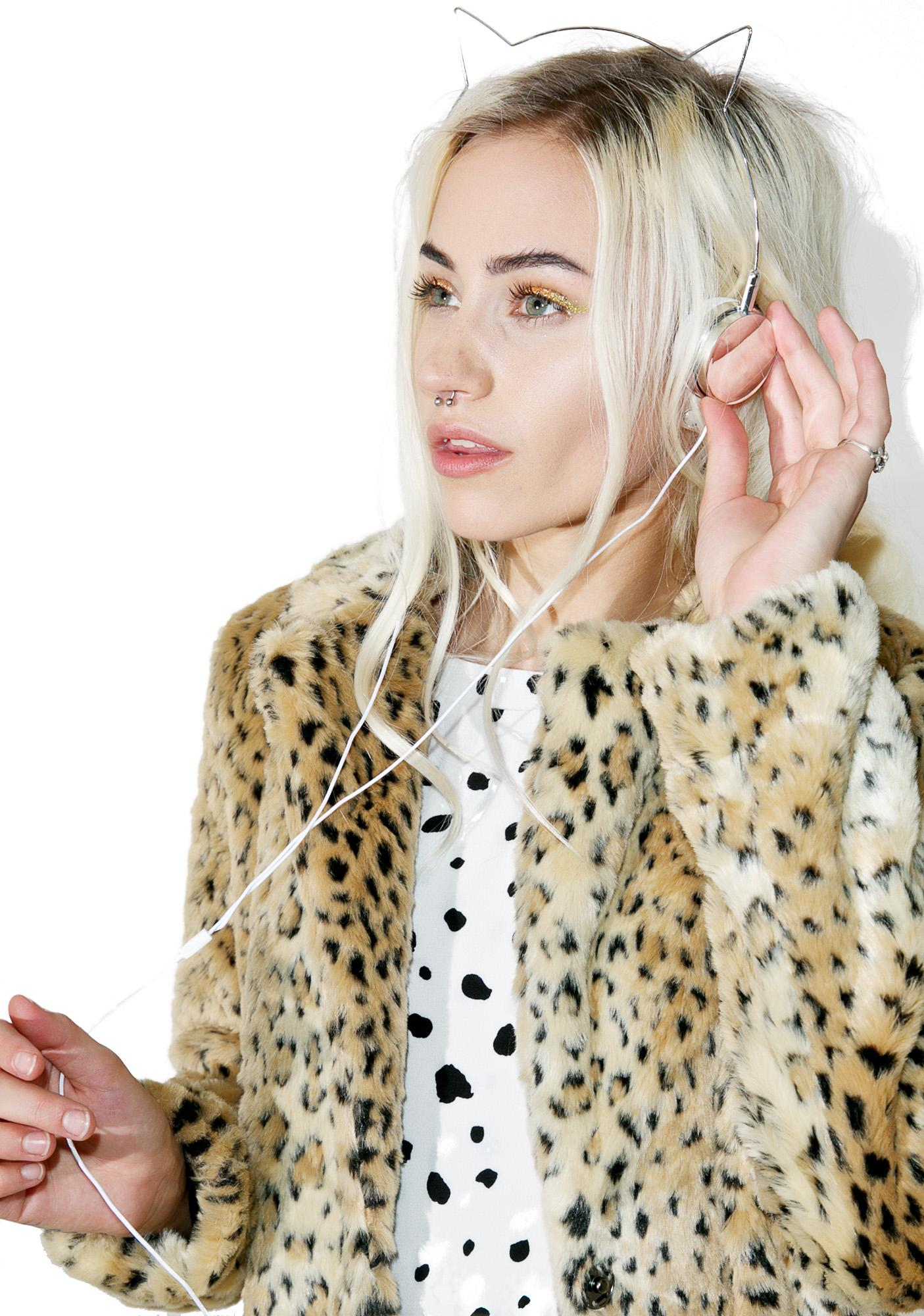 Skinnydip X Zara Martin Kitty Headphones