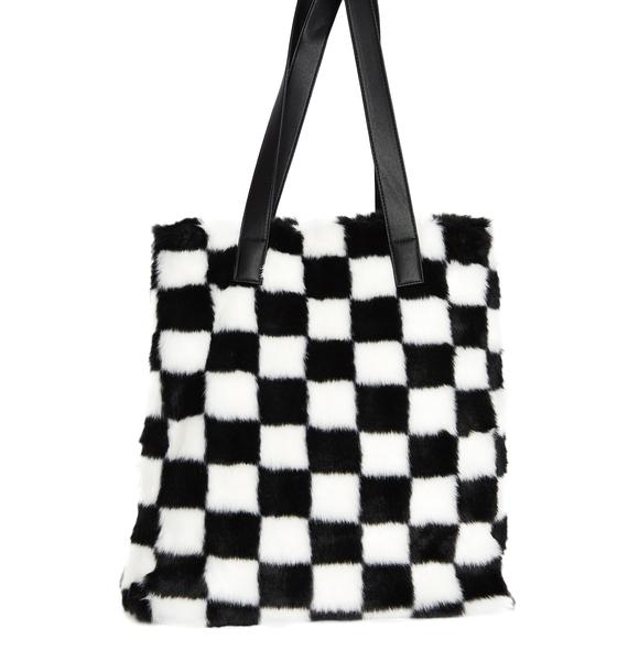 Current Mood Check Me Out Tote Bag