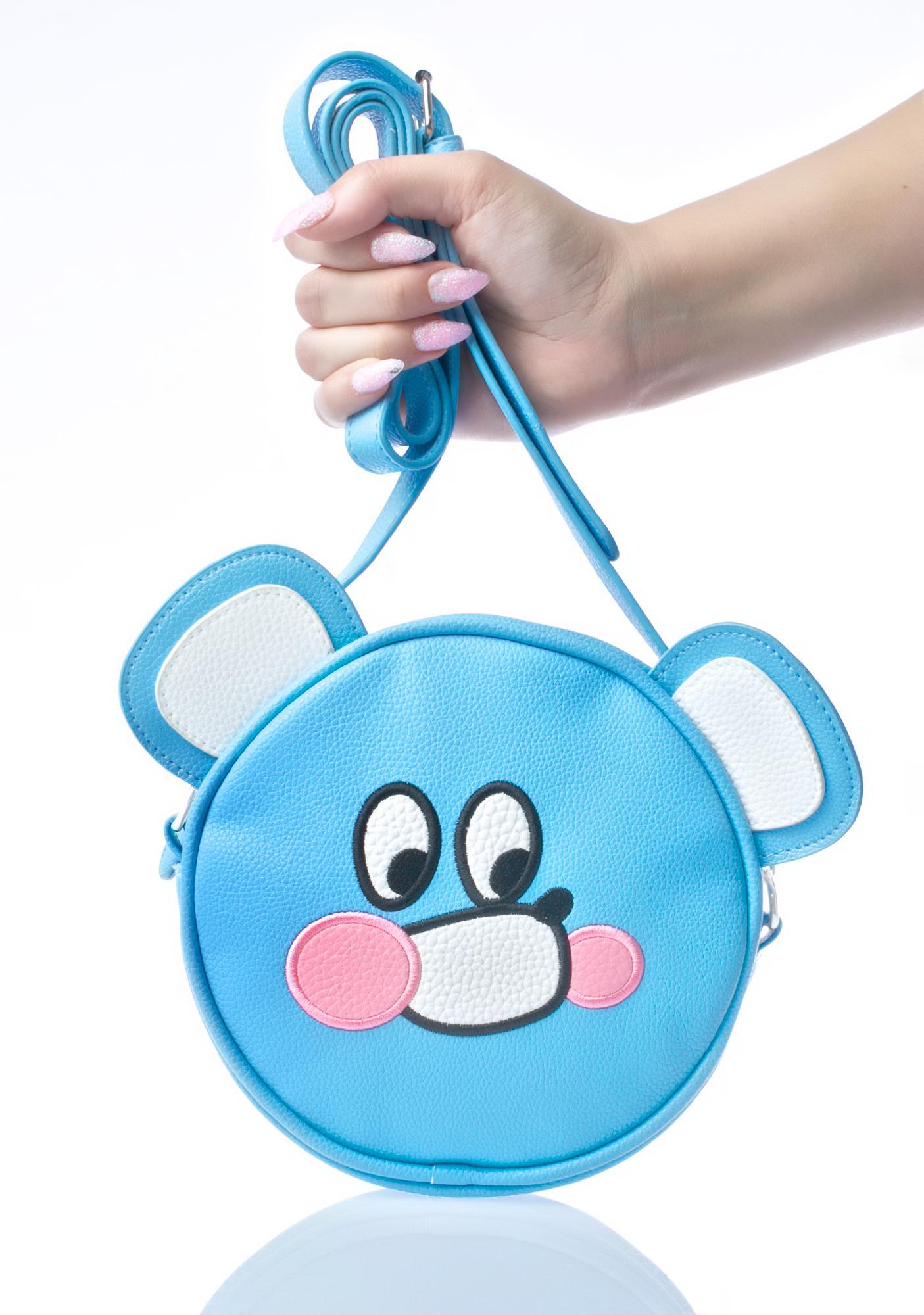 Lazy Oaf Nobody Bear Bag