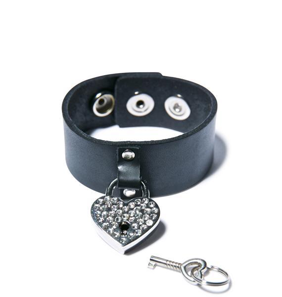 Hold On To Yer Heart Bracelet
