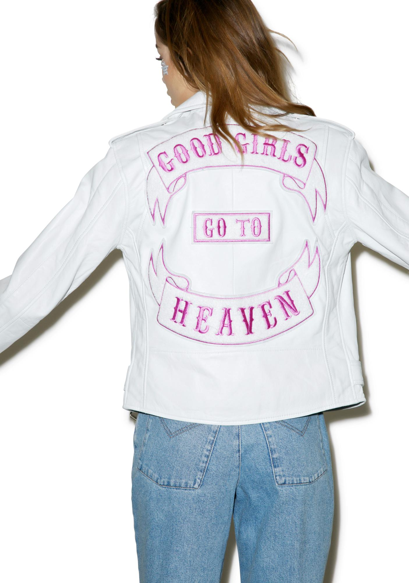 The Ragged Priest Heavenly Biker Jacket