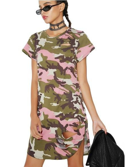 Ceasefire Camo Dress