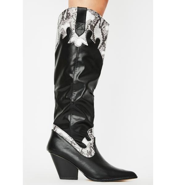 Poison Born Wild Cowboy Boots