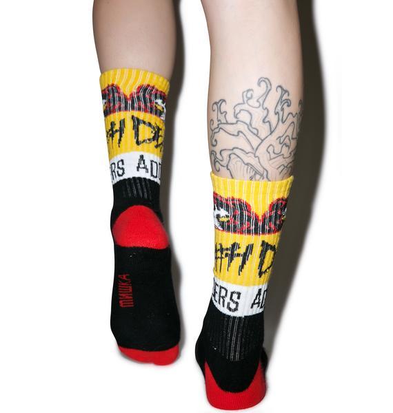 Mishka Death Adder Nation Socks