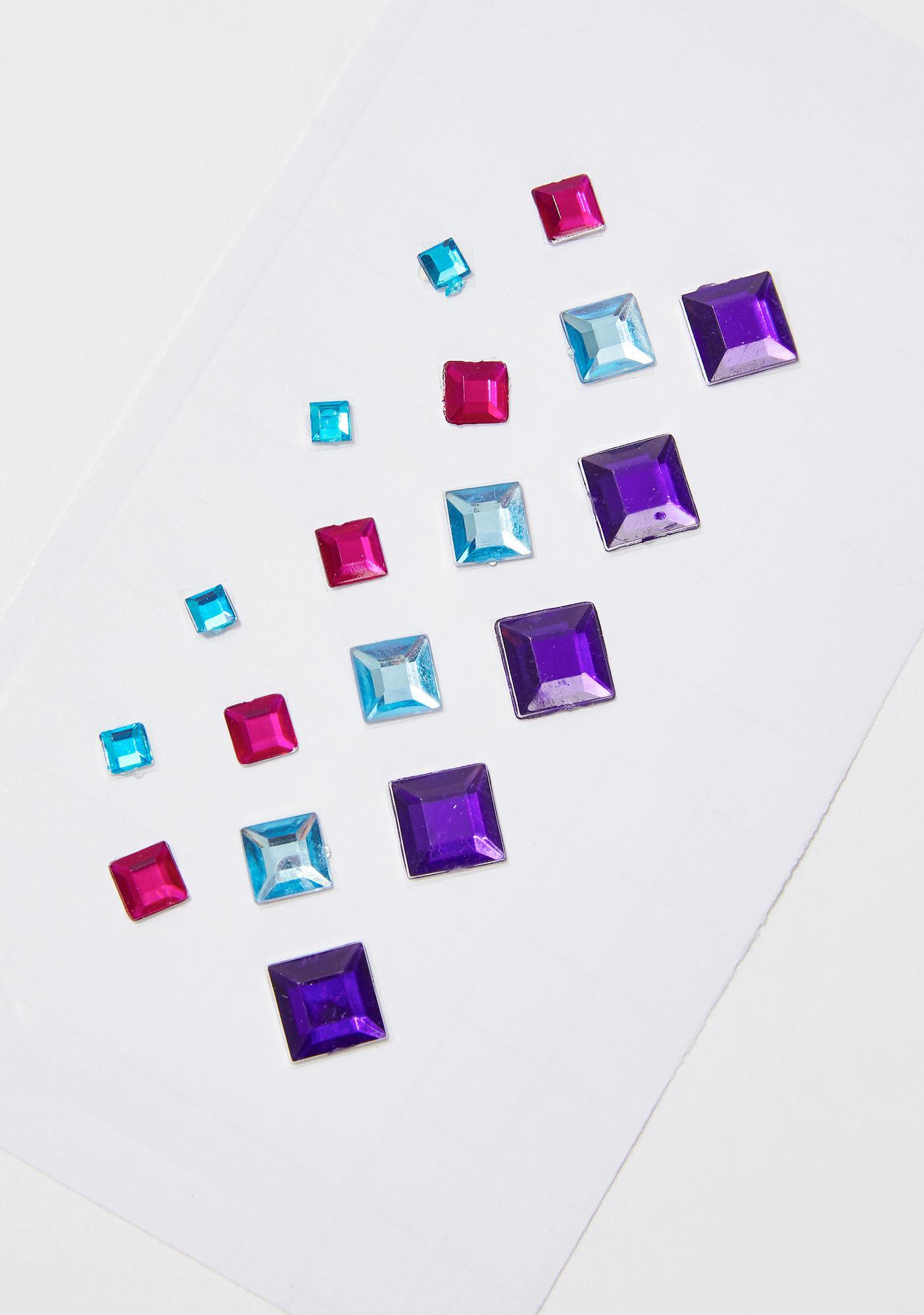 In Your Dreams Rainbow Pixie Face Gems