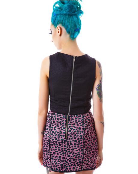 Trixie Leopard Skirt