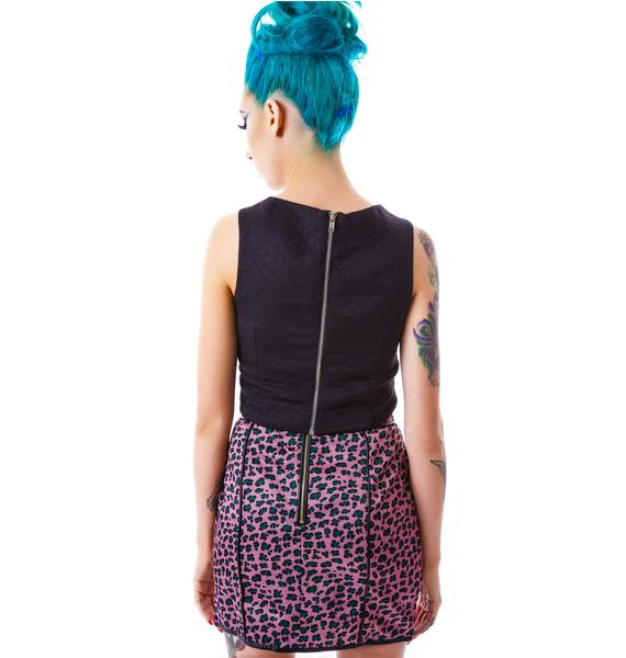 Trixie Leopard Skirt