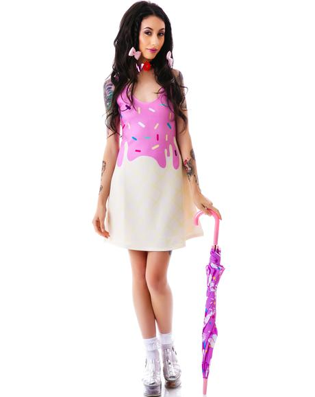 Japan L.A. Melty Ice Cream Tank Dress