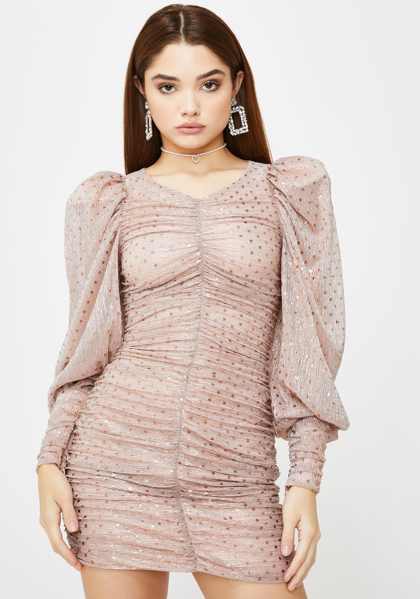 For Love & Lemons La Villette Mini Dress